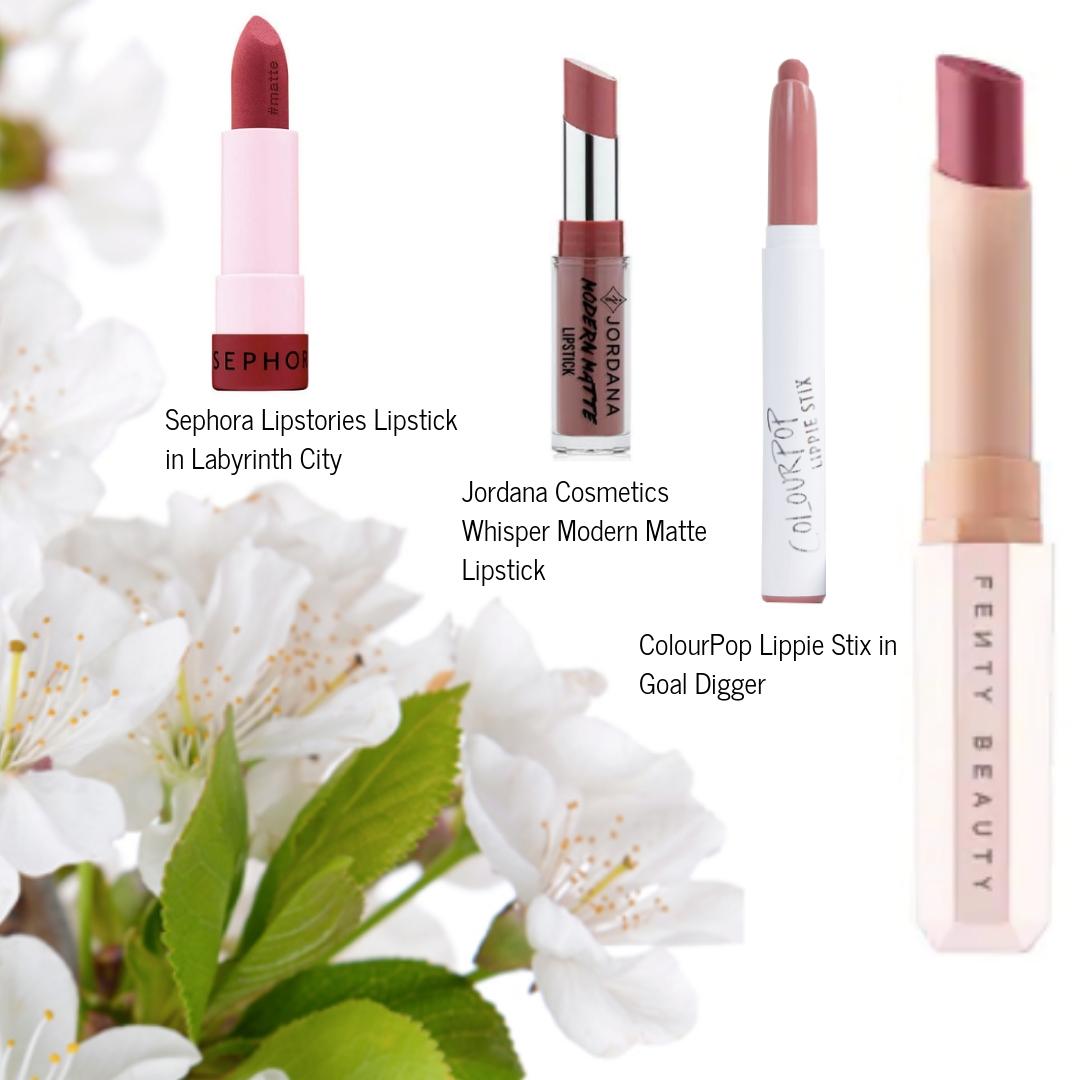 Fenty Beauty Mattemoiselle Plush Matte Lipstick in Spanked Dupe
