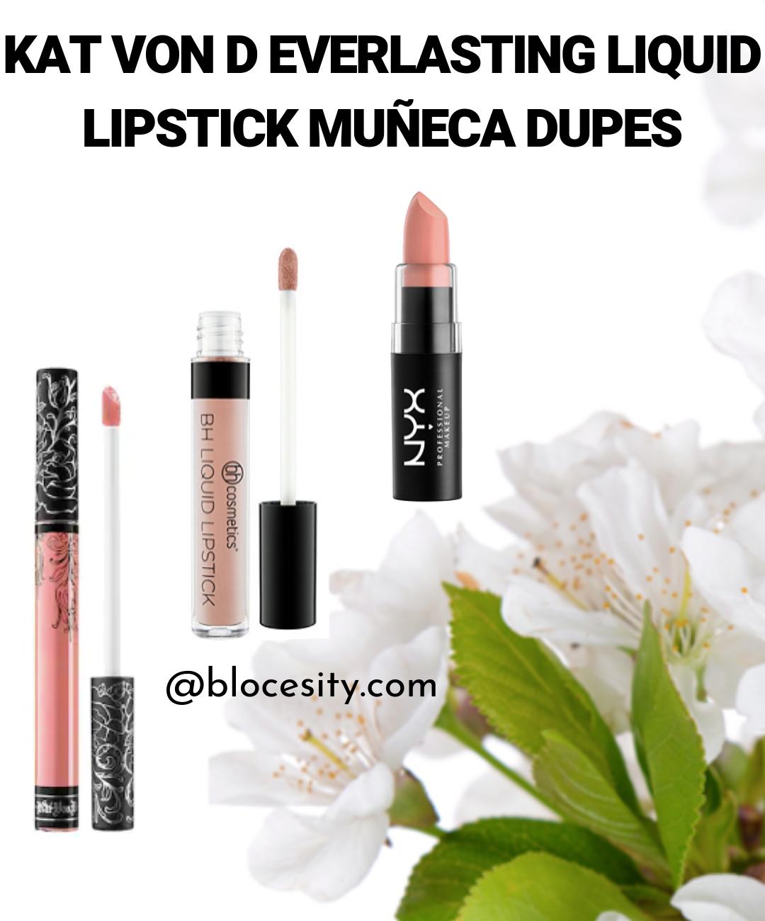 Kat Von D Everlasting Liquid Lipstick Muneca Dupe 1 of 4